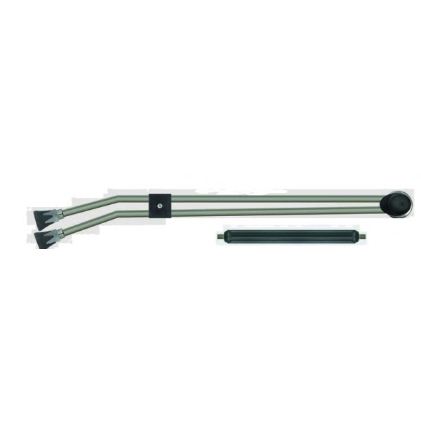 DOUBLE LANCE  400BAR, 1000mm WITH ADJUSTABLE VALVE AND LP NOZZLE