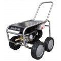High pressure cleaning machine PowerJet 280e, 3x400V/50Hz - Inox